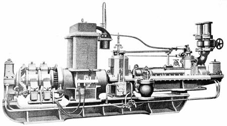 Паровая турбина Парсонса